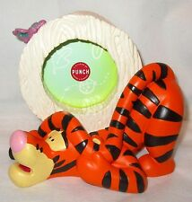 Disney Tigger the Pooh Tiger Picture Frame Sculpted 3D Resin Figurine by Punch