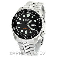 *NEW* SEIKO MENS AUTOMATIC JUBILEE DIVERS 200M WATCH SKX007K2 - RRP £269.00