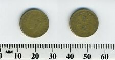 Hong Kong 1949 - 5 Cents Nickel-Brass Coin - King George VI - #3