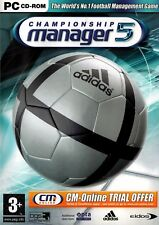 Championship Manager 5 (PC) - Free Postage - UK Seller