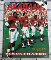 Alabama Illustrated Football November 19 1994 Vintage Magazine Program