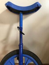 Einrad 16 zoll blau guter Zustand mit Ersatzsattel und Ständer