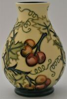 Moorcroft Pottery Bryony Vase Designed By Rachel Bishop