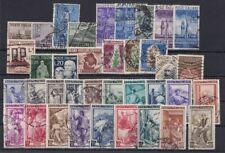 Italia repubblica  1950 Annata completa 37 valori usata