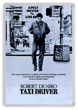 Taxi Driver FRIDGE MAGNET. Movie Poster Art