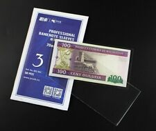 PCCB OPP Banknote Sleeve protector bag Size 3 - 70mm*140mm 50pcs
