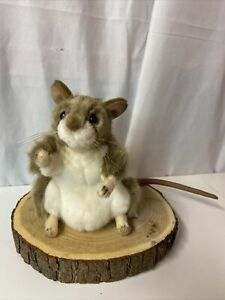 Hansa Portraits Of Nature Plush Mouse Collectible NWT