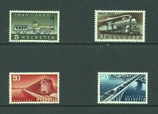 Switzerland 1947 SG 477-80 Railway Centenary MNH