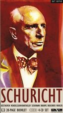 Direttore d'orchestra Carl Schuricht, Beethoven UA Set M. 4 CD + BOOKLET vita U fabbrica, ARTONE