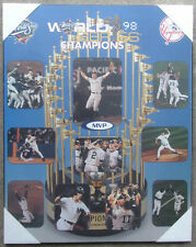 New York Yankees 1998 World Series Championship Picture Plaque