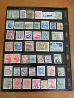 Stamp Collection - Austria - Used - 2 Scans - L98