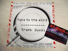 FRANK DUVAL  Face To The Wind  7 SP
