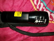 CREE T6 LED Torch Military Zoomable Flashlight, 6000 Powerful Lumen