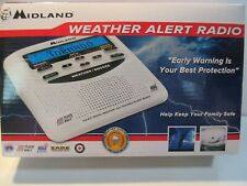 Midland Weather Alert Radio Alarm Clock WR120EZ  BRAND NEW