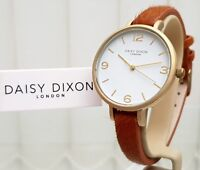 New DAISY DIXON Watch Tan Poni Fur Leather strap IDEAL GIFT for Her ! RRP £79 !
