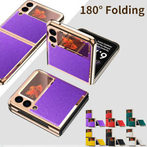 Electroplating Case for Samsung Galaxy Z Flip 3 5G Ultra-Thin Carbon Phone Cover