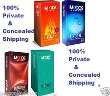 48 pcs Multi Variety Combo Condoms Condom Moods Cool, Dotted Ultrathin Blaze