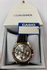 CASIO MTP-1374L-7A  MTP-1374  Multifunction  50m  Men's   MTP1374 +Casio Box