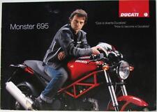 DUCATI Monster 695 - Motorcycle Sales Brochure - 2006/08