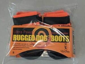 Ultra Paws Rugged Dog Boots Size Small New -0421