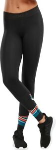 2XU Accelerate Womens Compression Tights Black Anti-Chafe Gym Training Workout
