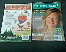 Lot of 2 issues Writer's Digest, July/August & October 2014