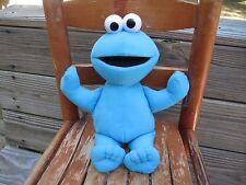 "Cookie Monster Sesame Street Plush Fisher Price 2006 Mattel 12"" Stuffed Toy"