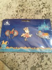 Disney Minnie Mouse The Main Attraction Dumbo Pin Set