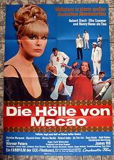 HÖLLE VON MACAO * ELKE SOOMER - A1-Filmposter - German 1-Sheet -1967 KRIMI