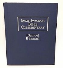Jimmy Swaggart Bible Commentary I & II Samuel 1 2 Hardcover Christian Book 2009