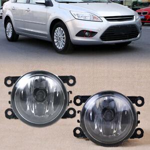 2X Drive Side Fog Light Lamp + H11 Bulbs 55w  Right & Left Side Car Accessories