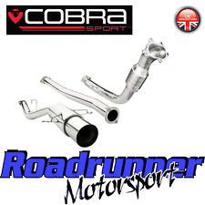 """COBRA Impreza Turbo WRX STI TUBO DI SCARICO 3 """"TURBO POSTERIORE Inc CAT non RES (Race) 01-07"""