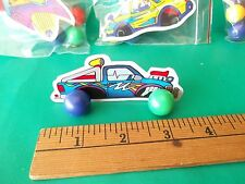 Cool Magnetic Ball Cars Party Favors 4 Car Cards, 16 Magnets Fun and unique !