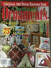 Just Cross Stitch Special Christmas Ornaments Issue 2007 Holidays Small Projects