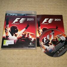 F1 2011  - Rare Sony PS3 Game