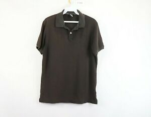 The North Face Mens Medium Japan Exclusive Spell Out Short Sleeve Polo Shirt