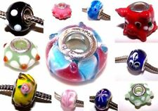 Unbranded Glass Costume Charms & Charm Bracelets