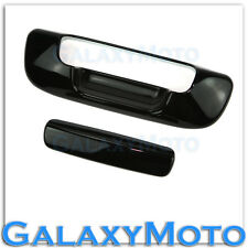 Gloss Shiny Black Tailgate Handle no KH Cover for 02-08 Dodge Ram 1500+2500+3500