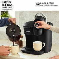 Keurig Kitchen K Duo Coffee Maker Single Serve 12 Cup Carafe Drip Brewer