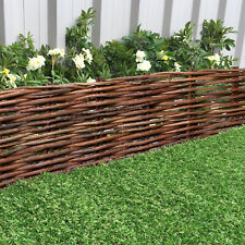 WILLOW FIXED BORDER EDGING GARDEN LANDSCAPE FLOWERBED DRIVEWAY LAWN HURDLE PLANT
