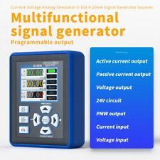 Digital Current Voltage Signal Generator Transmitter Analog Simulator 4 20ma Kit