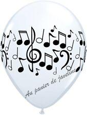 5 Ballons notes de musique  Décoration Salle Mariage Soirée fête AA 36