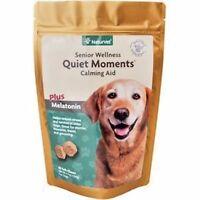 NaturVet Senior Dog Care Quiet Moments Calming Aid Stress Soft Chews, 65 count