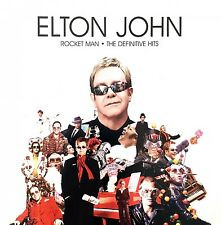 Elton John ‎CD Rocket Man The Definitive Hits - Europe (M/M)