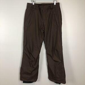 Columbia Women's Brown Omni-Shield Snow Ski Pants Medium