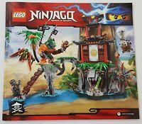 ~~LEGO NINJAGO 70604 - INSTRUCTION MANUAL ONLY