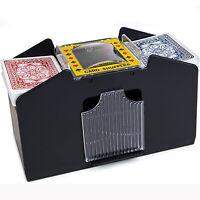 Mescolatore di carte automatico a 4 mazzi Giochi da casa Mescolatore di carte
