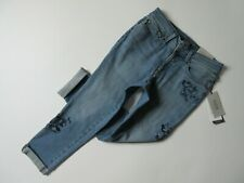 NWT Not Your Daughter's Jeans NYDJ Boyfriend in Pacific Floral Embroidery 2P