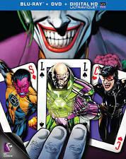 Necessary Evil: Super-Villians of DC (Blu-ray/DVD/Digital HD, 2013) NEW w/ Slip