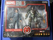 Hasbro Marvel Legends Series The First Ten Years Tony Stark And Iron Man Mark I